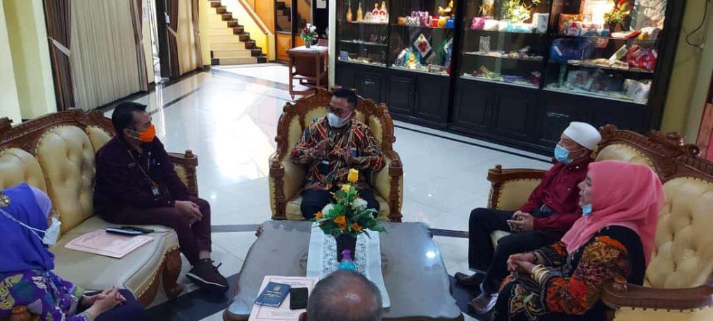 "Dinsos Provinsi Jawa Timur Sangat Bangga berdirinya Yayasan Rehabilitasi Sosial PP""AJIB."